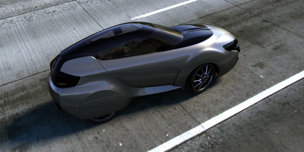 EQHAWK is a two-seat velomobile