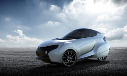 Four-wheel two-seater velomobile from Poland